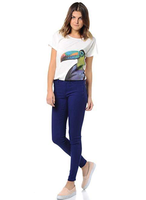 Pieces Pantolon | Skinny Mavi